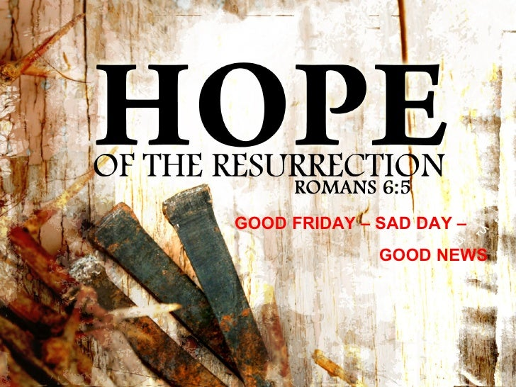 Hope Of The Ressurection Ppt