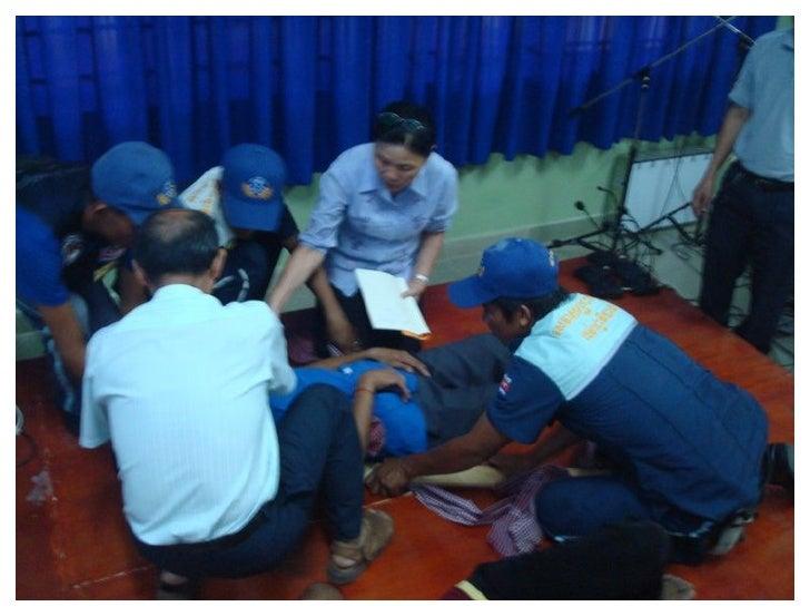 Hospital Preparedness for Emergencies -  Cambodia with Khmer Soviet Friendship Hospital