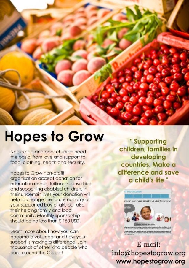 Hopes to Grow Presentation