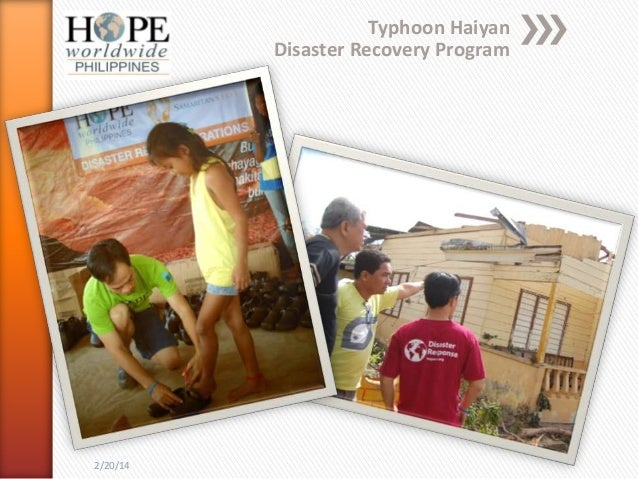 HOPEww Philippines Response to Typhoon Haiyan Survivors