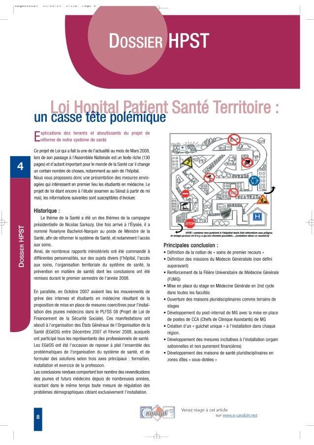 Hopital patient santé territoire