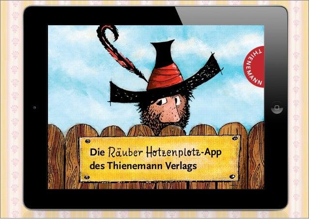Die                    -Appdes Thienemann Verlags