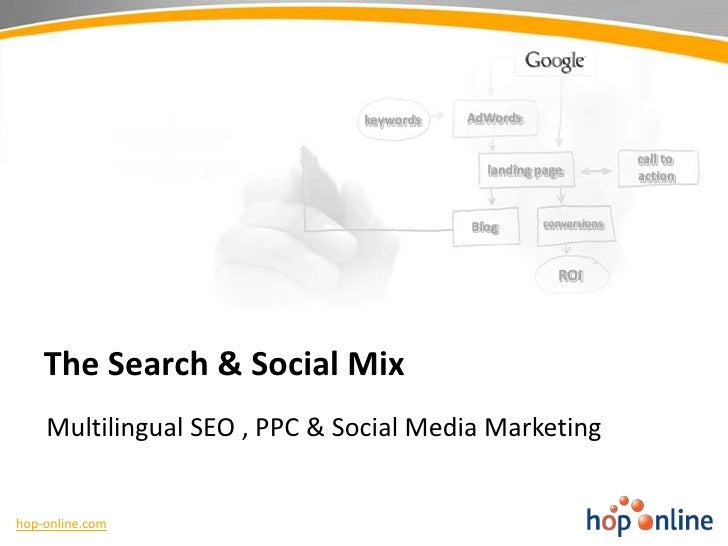 Multilingual SEO Nearshoring by Hop Online - 2011