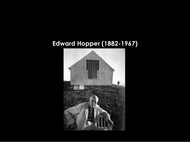 Edward Hopper (1882-1967)