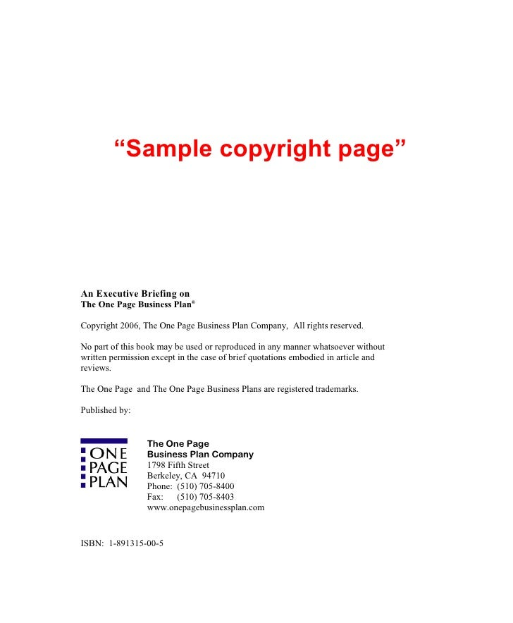jim horan39s 7x10 book template With copyright template for book