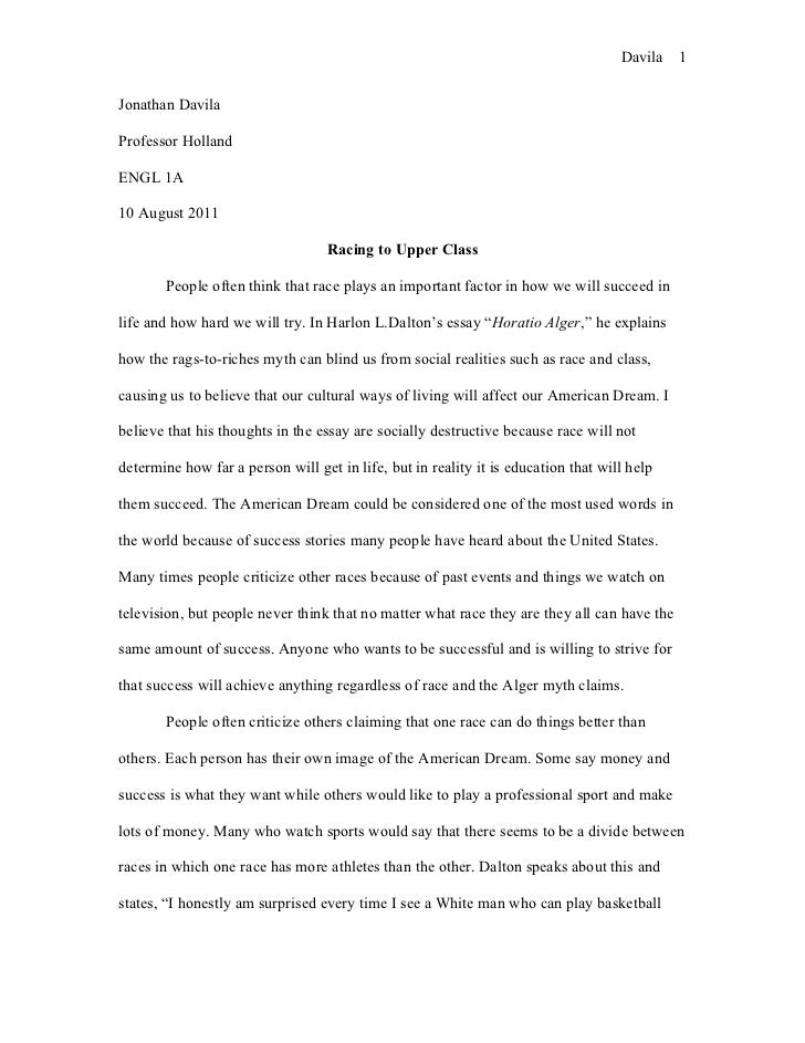 Horatio Alger Alger Myth American Dream