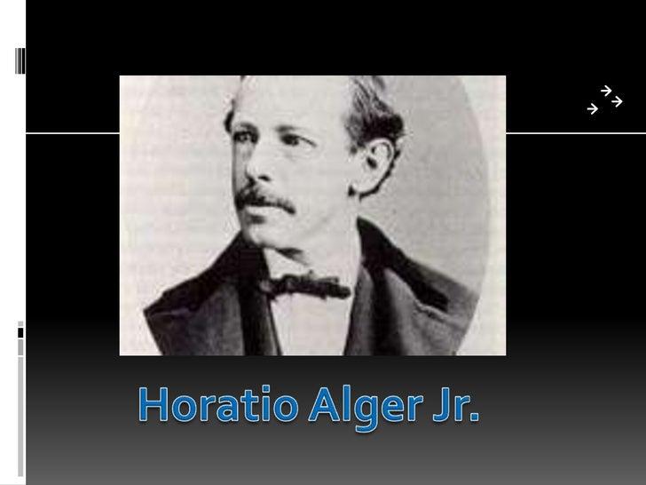 Horatio Alger Jr.<br />
