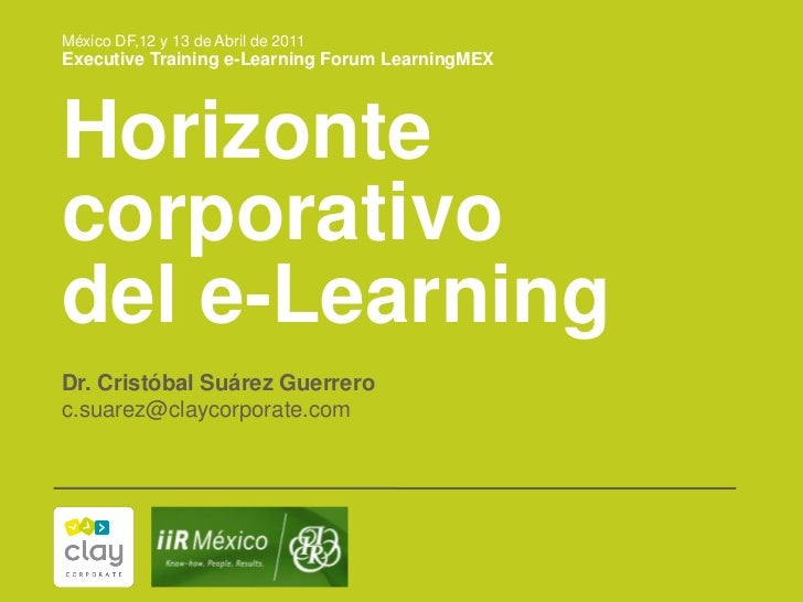 Horizonte corporativo del eLearning