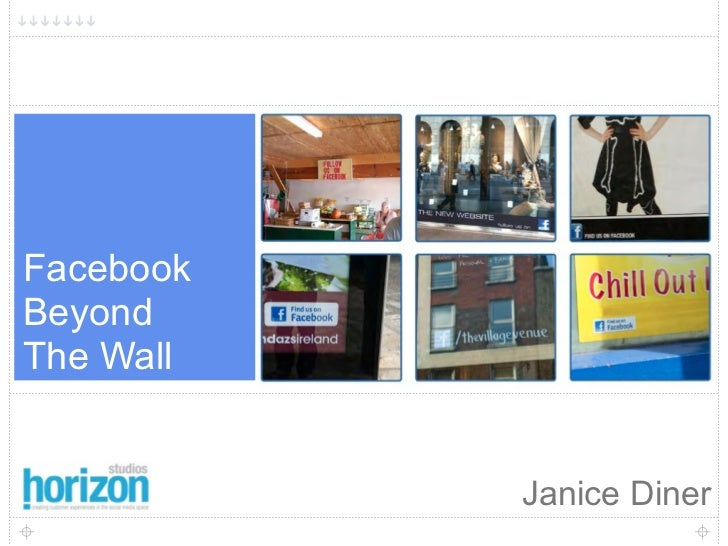 1     Facebook Beyond The Wall              Janice Diner