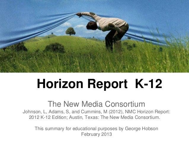 Horizon Report K-12 - 2012
