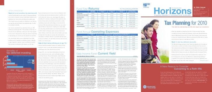 eTax Planning for 2010 . . . . . . . . .1                                                                              eNe...