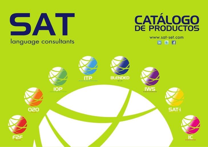 Catálogo de Productos SAT
