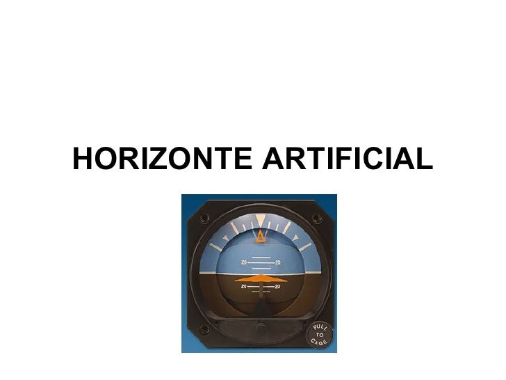 HORIZONTE ARTIFICIAL
