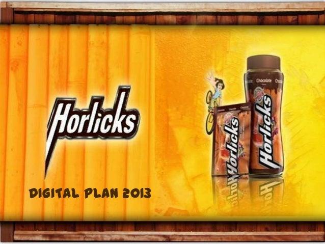 Horlicks Digital Plan Pitch (Strategy) 2013