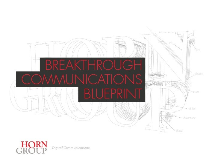Digital Communications Blueprint