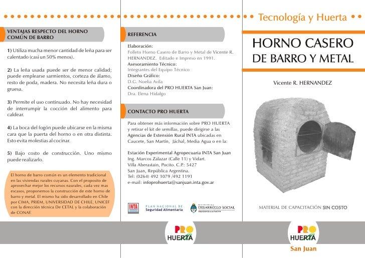 horno metal: