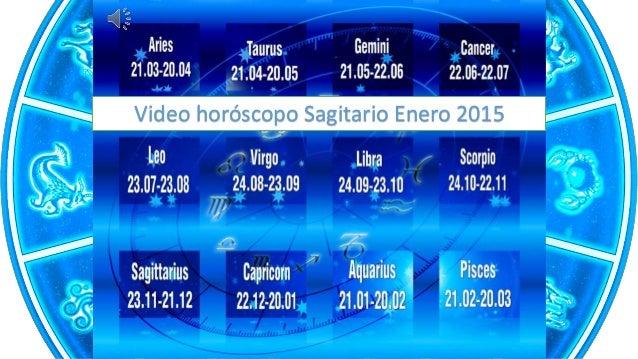 Video horóscopo Sagitario Enero 2015