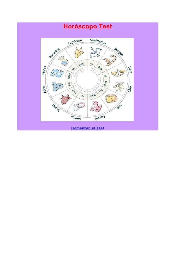 Horoscopo Test2