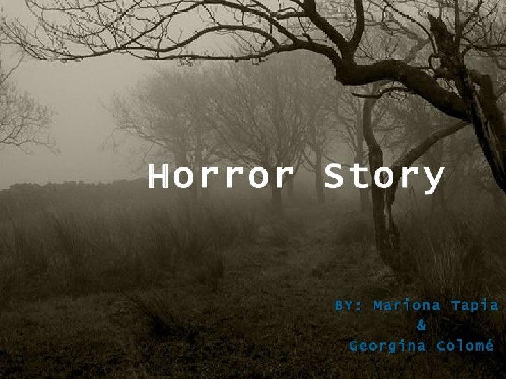 Georgina Colomé and Mariona Tapia horror story