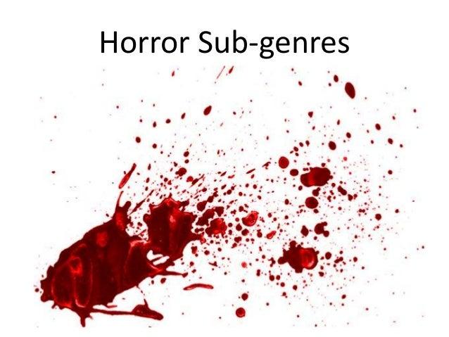 Horror Sub-genres
