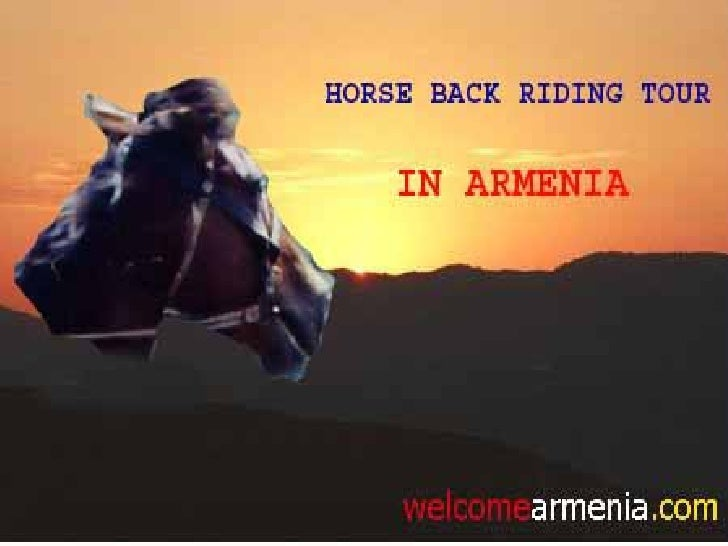 Horse Back Riding Tour In Armenia