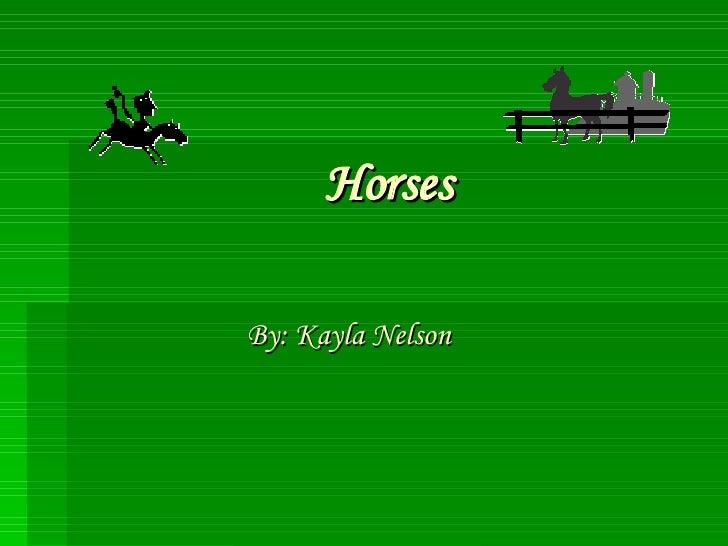 Horses (Tec Lab)