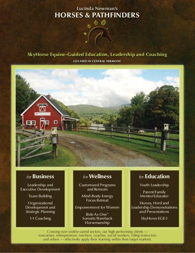 Horses&pathfinders 2013 catalog