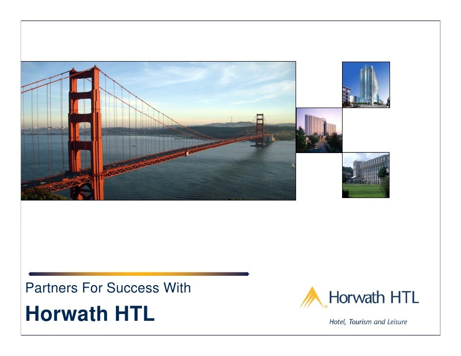 Partners For Success With  Horwath HTL                 1