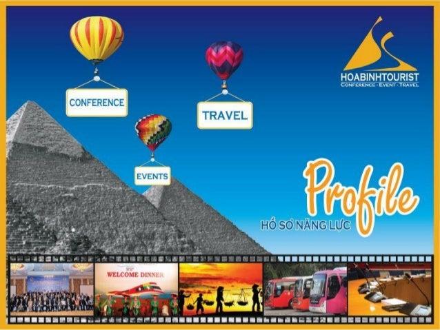 Tổ chức hội nghị, sự kiện, du lịch chuyên nghiệp