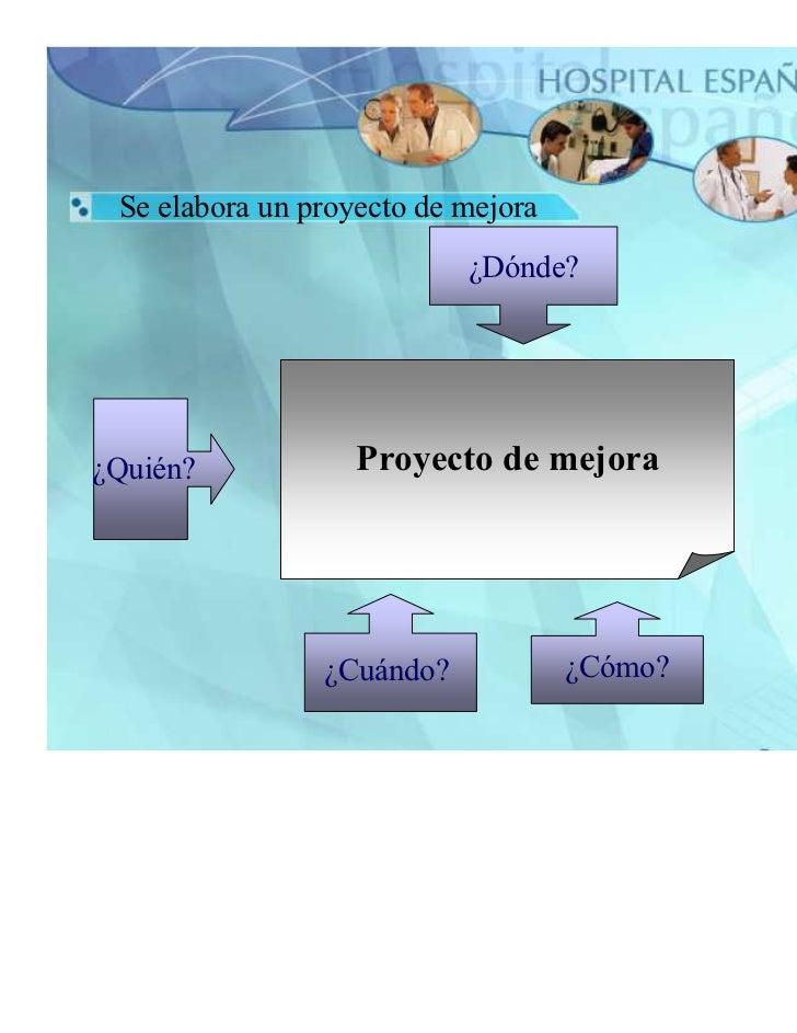 Baño De Regadera Al Paciente:se elabora un proyecto de mejora dónde quién proyecto de