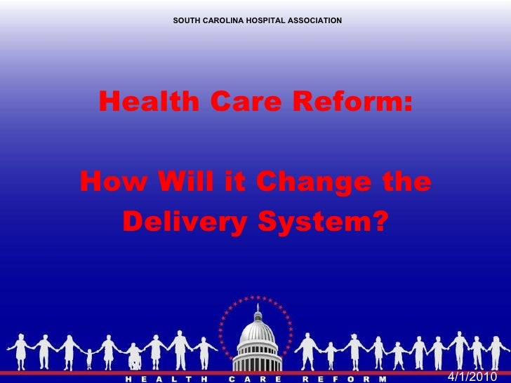 Hospital Version Of Health Reform Presentation Today