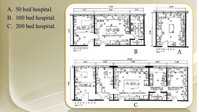 Hospital design for X ray room decor