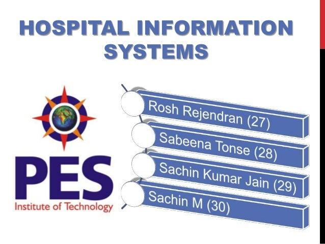 HOSPITAL INFORMATIONSYSTEMS