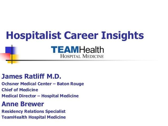 Hospitalist presentation final ppt
