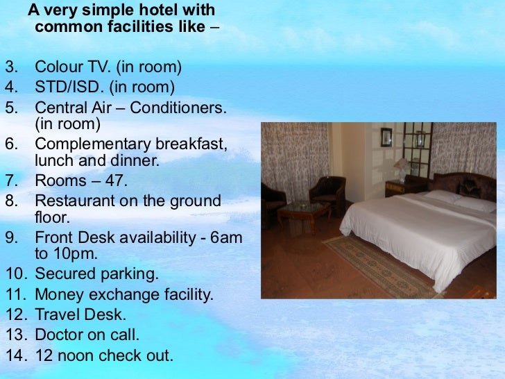 Frankfinn hospitality assignment