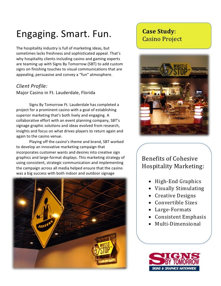 Hospitality Marketing - Custom Signage Helps Prominent FL Casino Through New Construction Period