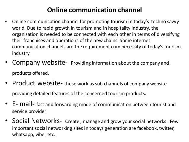 role of ict in the hospitality industry Thus hotels, restaurants, resorts, leisure and full range of hospitality provision,  management, and communication are considered, as is ict use in hospitality.