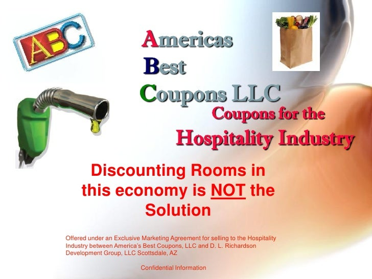 Hospitality Industry   Stop Discounting Reward Coupon Program