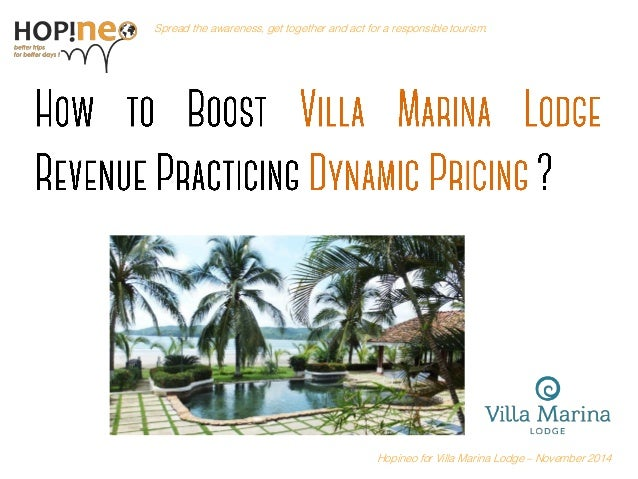 Hospitality Management : Revenue Management