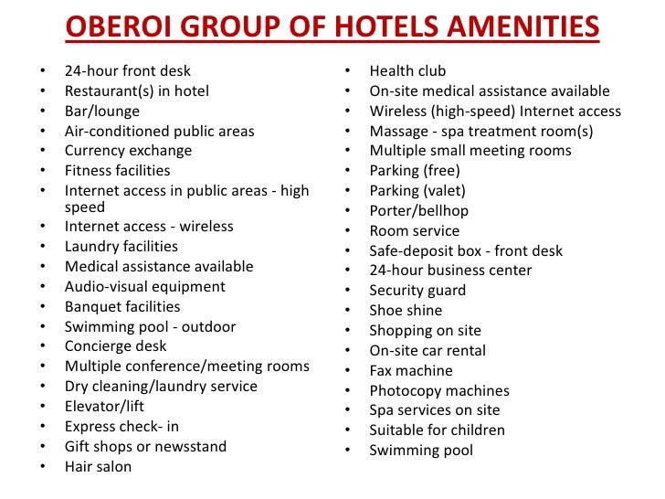 Hotel Room Service Job Description