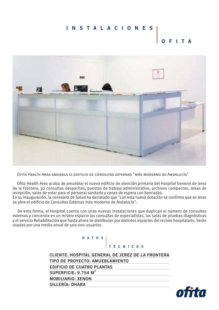 Instalación en el Hospital de Jerez
