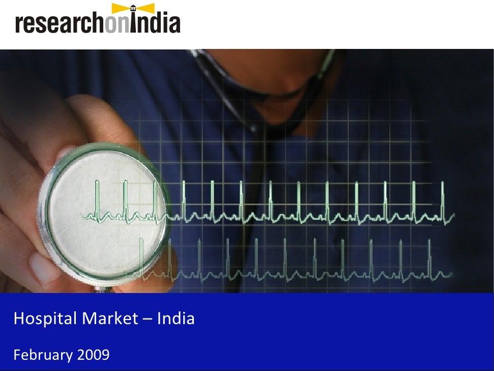Hospital Market - India - Sample