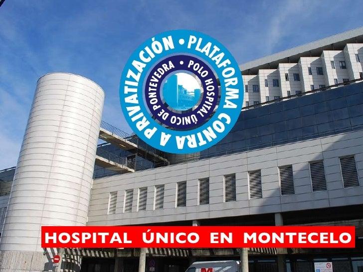 Hospital único montecelo   gl