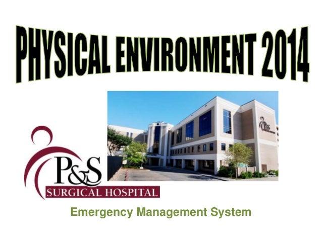 Hospital Safety Education