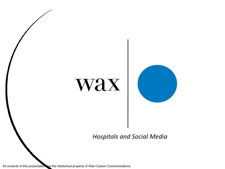 Hospitals And Social Media