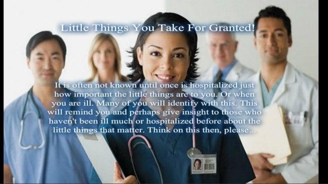 Hospital stuff
