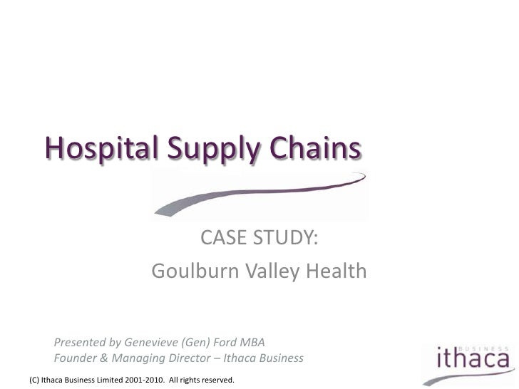 supply chain case study with solution