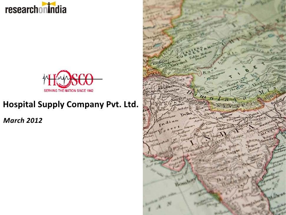 Hospital supply company pvt. ltd - Company Profile