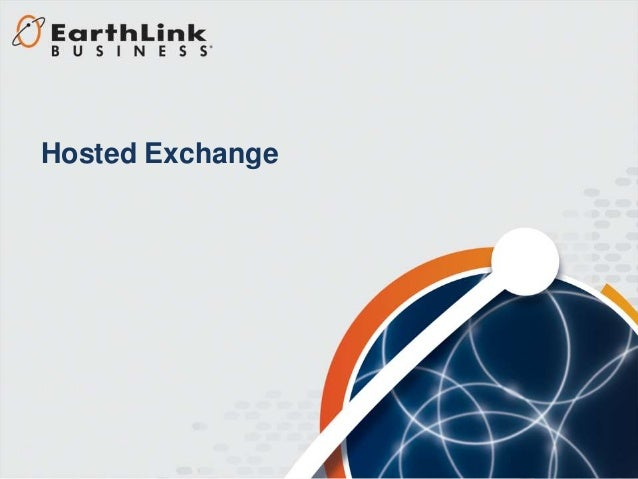EarthLink Business Hosted Exchange Solution