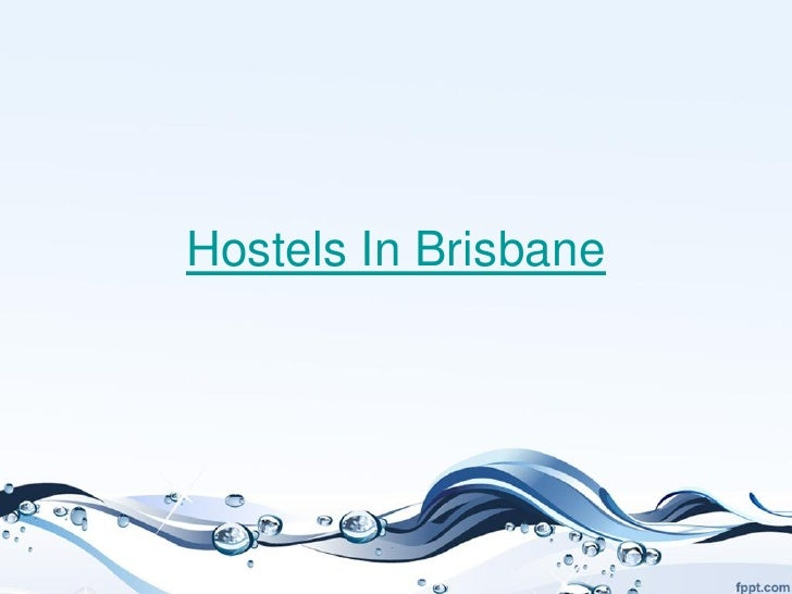Hostels in brisbane